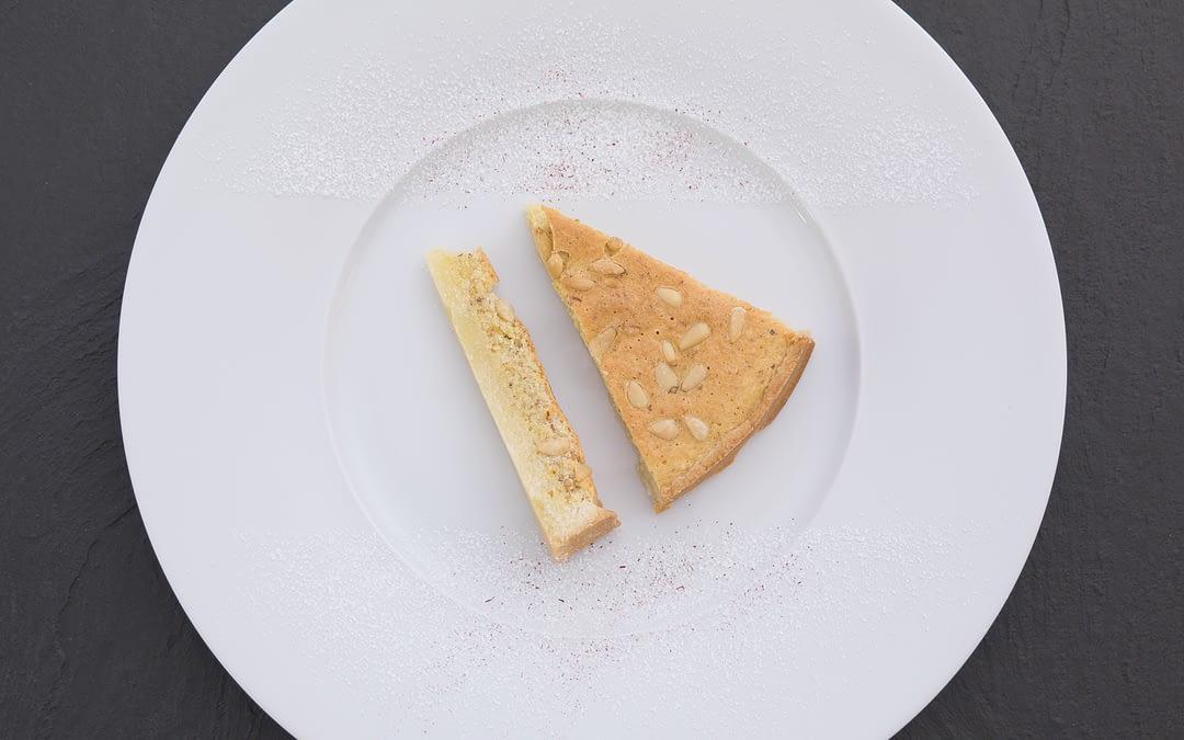 Safran-Mandel-Pinien-Tarte
