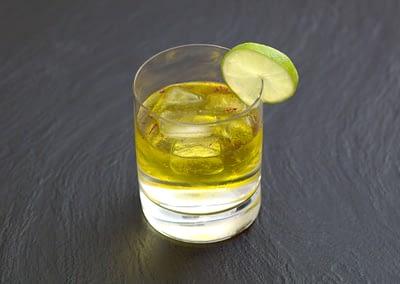 Gin Tonic mit Safran