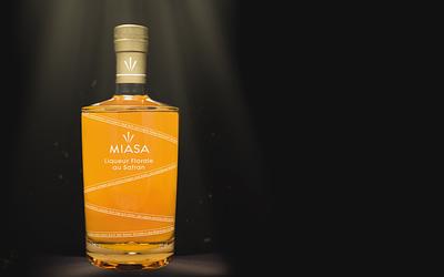 Miasa launcht edlen Safran Liqueur