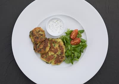 Safran-Kartoffel-Küchlein
